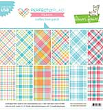 Lawn Fawn Double-Sided Collection Pack 12x12 12pk - Perfectly Plaid Remix (6 Designs 2 Each)