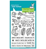 SO: Lawn Fawn Clear Stamps - Toucan Do It (4x6)