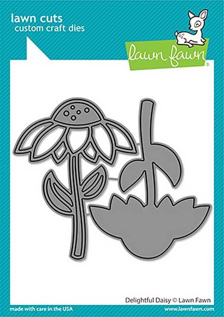 SO: Lawn Cuts Custom Craft Die - Delightful Daisy