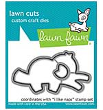 Lawn Cuts Custom Craft Die - I Like Naps