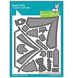 Lawn Cuts Custom Craft Die - Build-A-Campsite