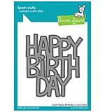 SO: Lawn Cuts Custom Craft Die - Giant Happy Birthday