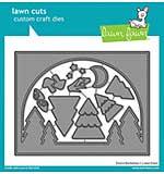 SO: Lawn Cuts Custom Craft Die - Forest Backdrop