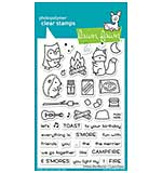 Lawn Fawn Clear Stamps - S'more The Merrier (4x6)