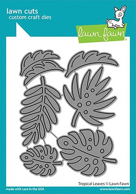 Lawn Cuts Custom Craft Die - Tropical Leaves