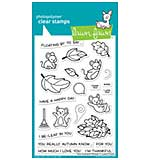Lawn Fawn Clear Stamps - You Autumn Know (4x6)