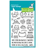 SO: Lawn Fawn Clear Stamps - Purrfectly Wicked (4x6)