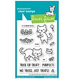 SO: Lawn Fawn Clear Stamps - Purrfectly Wicked Add-On (3x4)