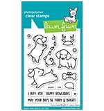 Lawn Fawn Clear Stamps - Furry and Bright (3x4)