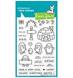 Lawn Fawn Clear Stamps - Penguin Party (4x6)