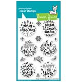SO: Lawn Fawn Clear Stamps - Magic Holiday Messages (4x6)
