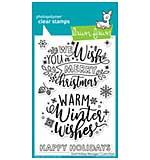 SO: Lawn Fawn Clear Stamps - Giant Holiday Messages (4x6)