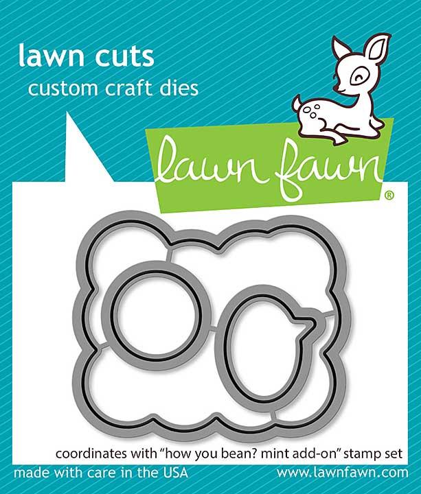 Lawn Cuts Custom Craft Die - How You Bean Mint Add-On
