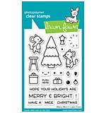 SO: Lawn Fawn Clear Stamps - Merry Mice (3x4)
