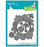 SO: Lawn Cuts Custom Craft Die - Magic Iris Fall Leaves Add-On