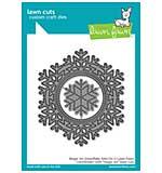 SO: Lawn Cuts Custom Craft Die - Magic Iris Snowflake Add-On