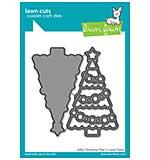 SO: Lawn Cuts Custom Craft Die - Jolly Christmas Tree