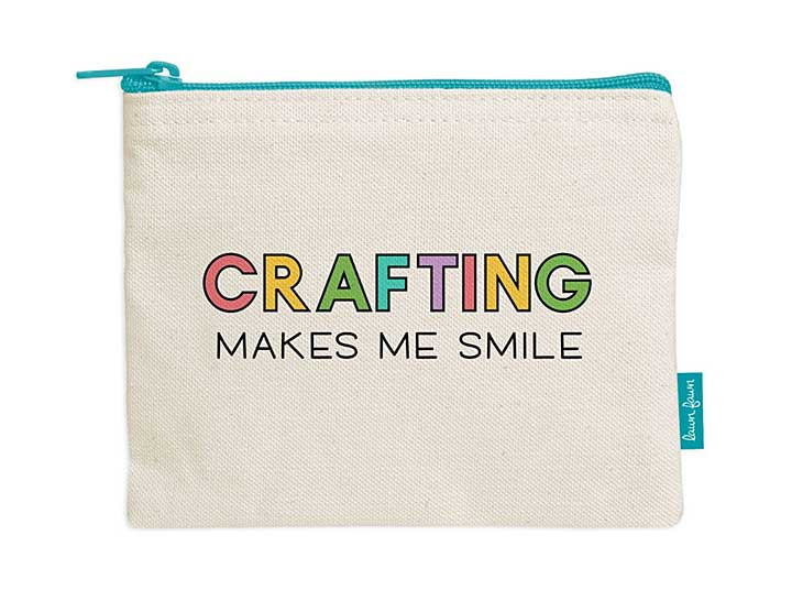 Zipper Pouch - Crafting Makes Me Smile