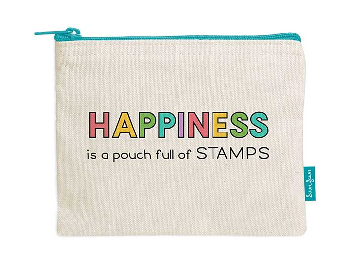 Zipper Zouch - Happiness is a Pouch Full of Stamps