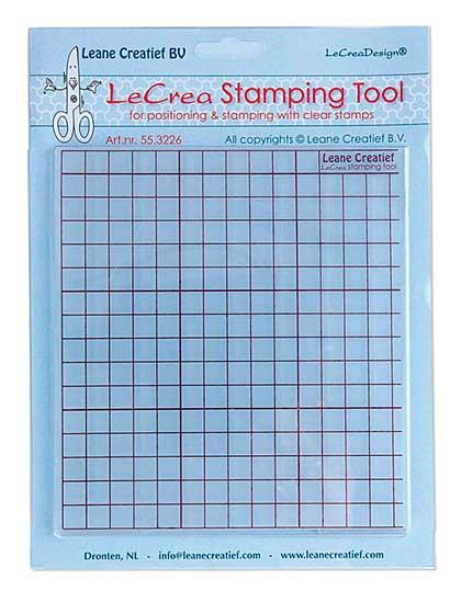 SO: Leane Creatief - Stamping Tool Grid Press