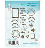 Leane Creatief Mail Clear Stamp Set
