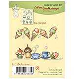 Leane Creatief Time for Tea Clear Stamp Set