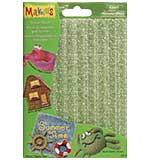 SO: Makins Clay Texture Sheets 4pk - Set A (Sand, Wave, Brick and Cobblestone)