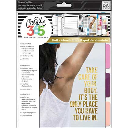 SO: Create 365 Happy Planner Extension Pack - Fitness