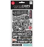 SO: Chipboard Value Pack - Chalk Sweet Memories