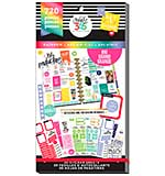 Happy Planner Sticker Value Pack - Rainbow - Big, 720pcs