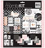 Me & My Big Ideas Page Kit - Black, White & Rose (12x12)