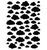 Nellies Choice A5 Mask Stencil - Clouds