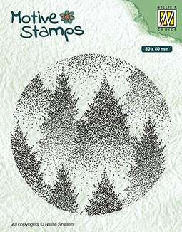 Nellie Snellen Motive Clear Stamps - Misty Forest
