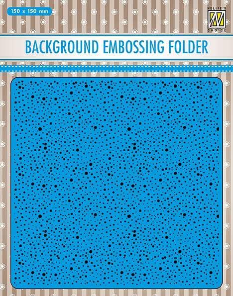 Nellie Snellen Background Embossing Folders - Dots