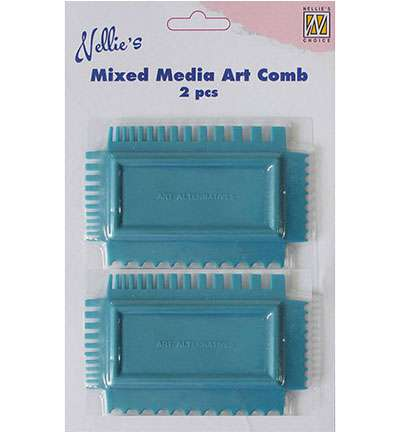 SO: Mixed Media Art Combs, 2pk