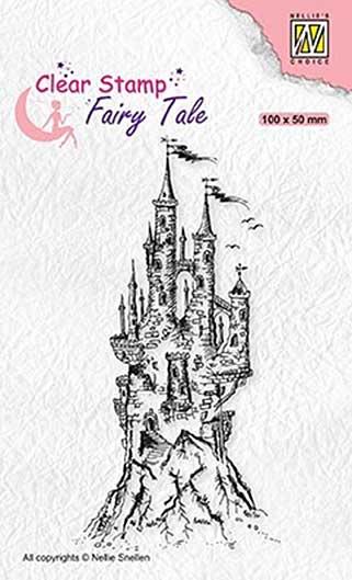 Nellie Snellen Clear Stamps Fairy Tale - Elves Castle