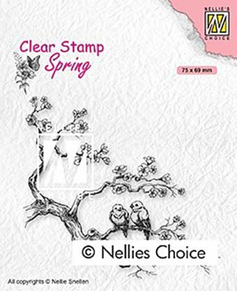 Nellie Snellen Clear Stamps Spring - Spring lovers