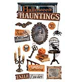 Paper House Productions - Halloween Hauntings 3D Stickers
