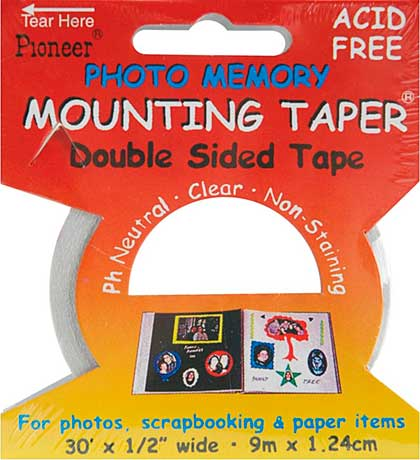 SO: Photo Memory Double-Sided Mounting Tape - .5x30