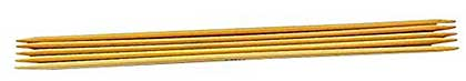 Prym Double Pointed Bamboo Glove Knitting Pins (15 cm x 2.50mm)