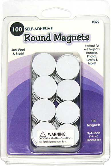 SO: Round Magnets 100pk - .75