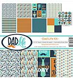 """Reminisce Collection Kit 12""""X12"""" - Dad Life"""