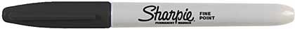 SO: Sharpie Black - Fine Point Permanent Marker