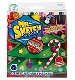 SO: Mr Sketch Scented Washable Marker Set - Chisel Holiday (6pk)