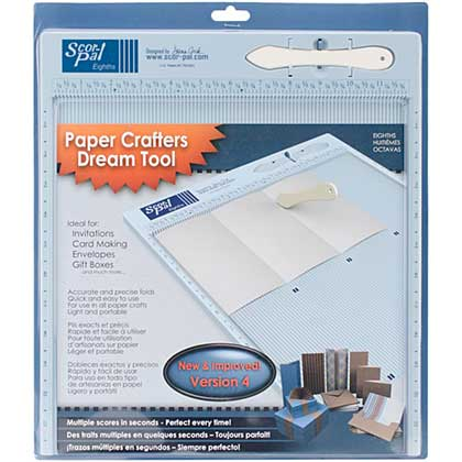 Scor-Pal Eigths - Measuring and Scoring Board 12x12 (Eigth inch divisions)