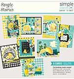 Simple Stories Simple Cards Card Kit - So Sweet, Lemon Twist
