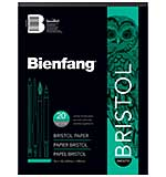 Bienfang Bristol Board Smooth Paper Pad (9x12, 20 Sheets)