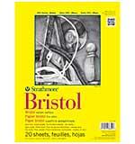 Strathmore Bristol Vellum Paper Pad 9x12 - 20 Sheets