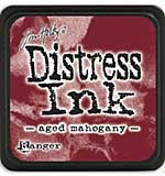 SO: Tim Holtz Distress Mini Ink Pads - Aged Mahogany