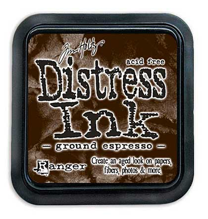 SO: Tim Holtz Distress Ink Pad - Ground Espresso (COTM August)